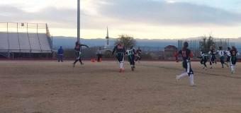 Varsity flag football defeats Green Valley