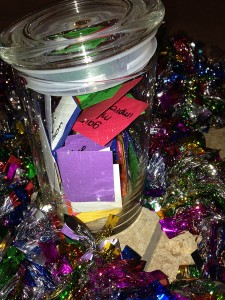 Start your jar for 2014 and collect your happy memories. Photo by Izzy Schmidt