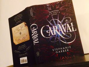 "Released on January 31, ""Caraval"" by Stephanie Garber gives magic, romance, and adventure a brilliant new spin. Photo by Maddie Baker"