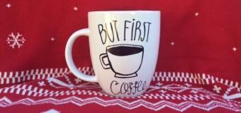 Holiday gift guide: DIY Sharpie designed mug